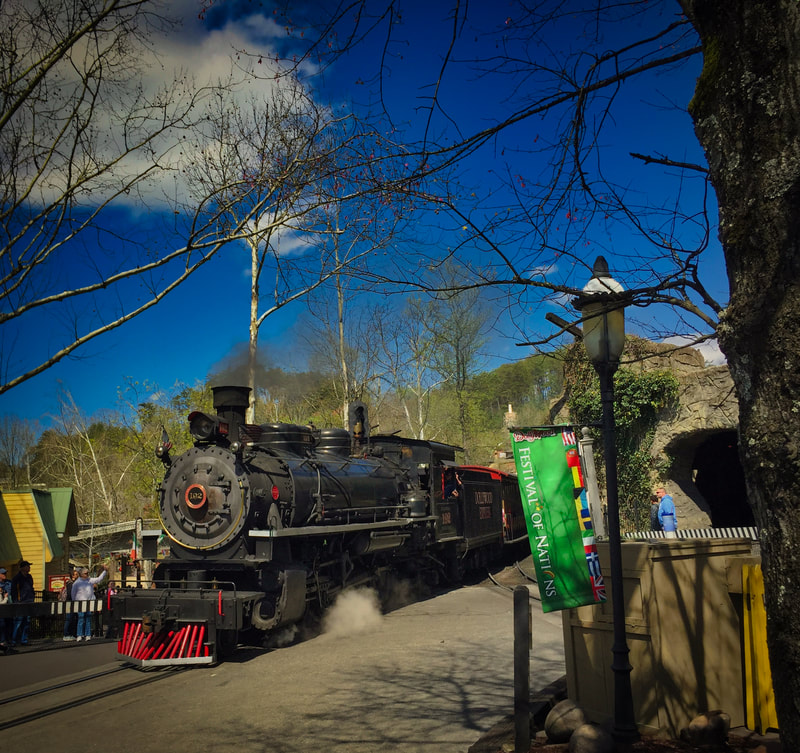 Dollywood Express Steam Locomotive #192.